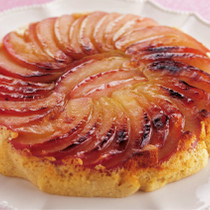 りんごの土鍋ケーキ