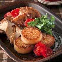 大根とチキンのステーキ バルサミコソース