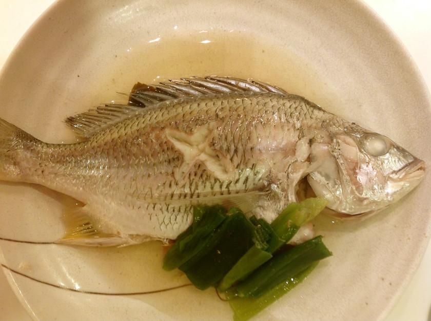 美味☆キビレ(白身魚)のマース煮(塩煮)