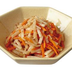 大根とにんじんの炒めナムル
