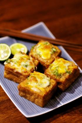 ☆もう1品☆厚揚げの味噌チーズ焼き