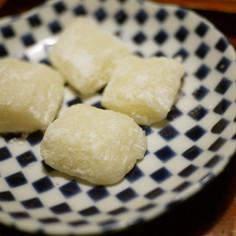 ノンエッグ ノンミルクのミルクバター餅☆