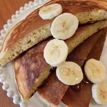 バナナのパンケーキ