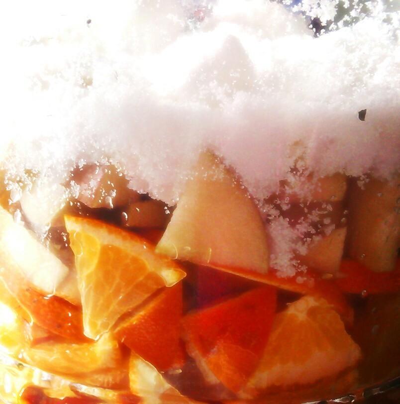 リンゴと生姜のミネラル酵素ジュース