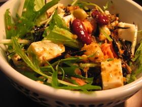 ひじきと豆腐の☆7品目サラダ