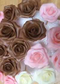プラチョコ薔薇 バレンタイン