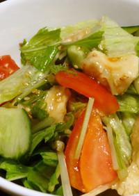 ぷるっぷる♪鶏胸肉のサラダ
