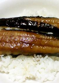 太刀魚の磯辺蒲蒸し焼き