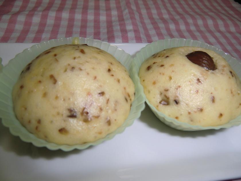 栗の蒸しパン