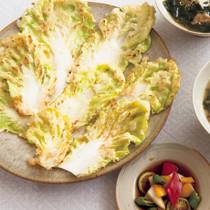 白菜チヂミ