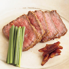 牛肉のみそ風味たたき