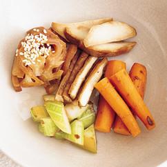 野菜のにんにくみそ漬け5種