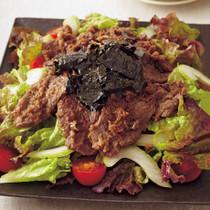 プルコギ風焼き肉サラダ