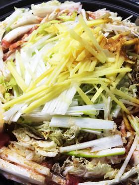 豚肉と白菜のミルフィーユ鍋 簡単