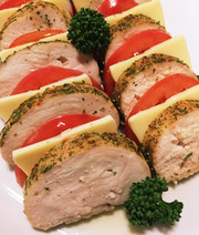 おもてなしに♡ムネ肉のハーブ焼き☆の写真