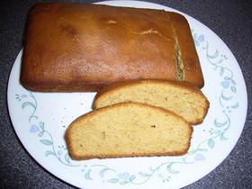 普通のパウンドケーキ