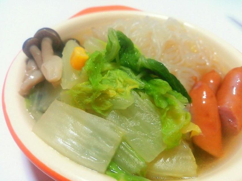 ダイエット♪白菜のぽかぽかスープ