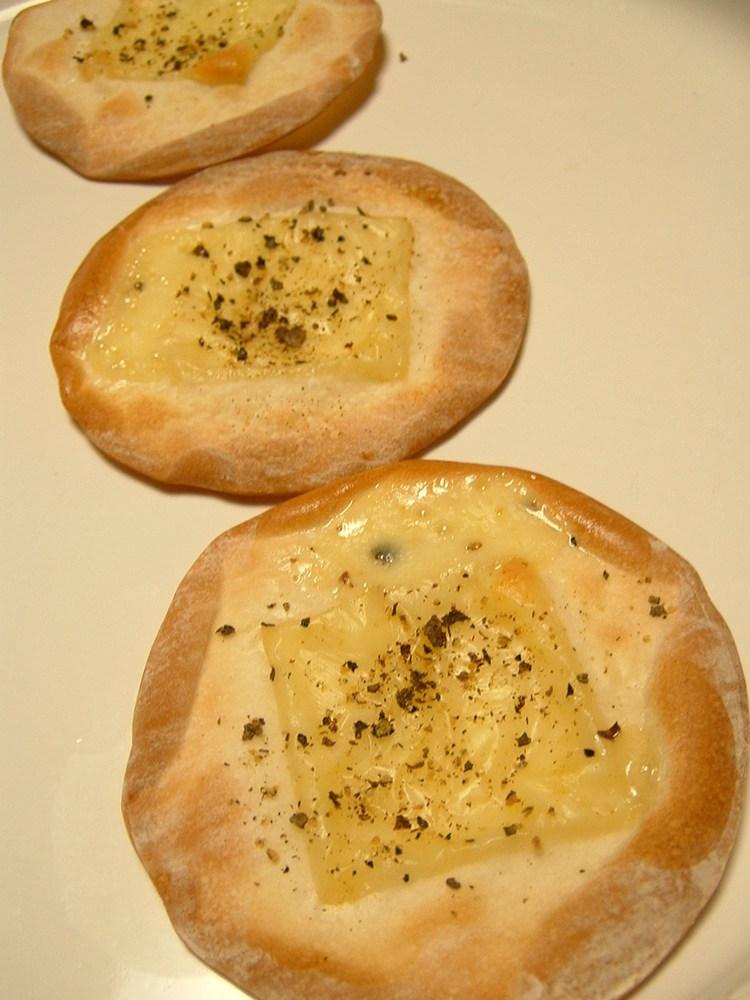 黒胡椒とチーズのパ~リパリ♪