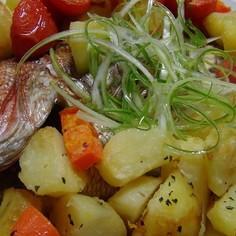 NZ風 鯛のハーブ焼き (100日祝い)