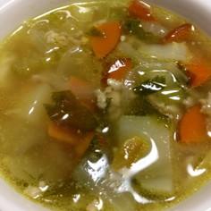 具だくさん♪かおるスープ