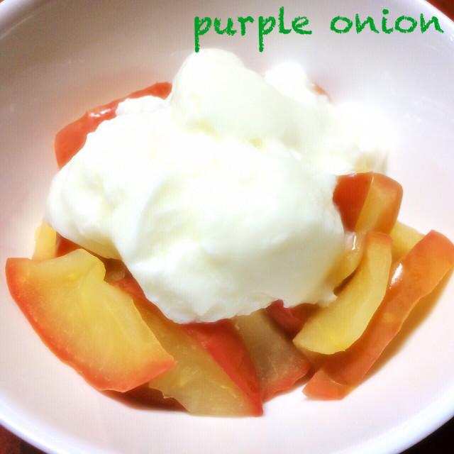 朝りんごダイエットの為のりんごヨーグルト