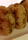 簡単絶品☆吉野風鶏めし(鳥ごぼう混ぜご飯