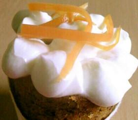 にんじんのカップケーキ@アメリカ風