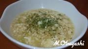 男めし!簡単ダイエット豆腐とろみスープの写真