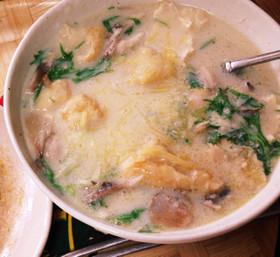糖質制限!低糖質カルボナーラ風スープ♪