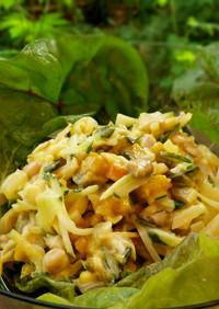 重ね煮のポテトサラダ