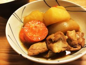 簡単おかず煮物☆鶏で肉じゃが!鶏じゃが