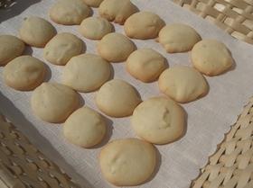 卵白の簡単クッキー