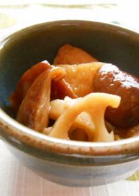 干し椎茸とさつま揚げのこっくり煮