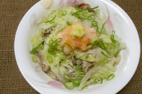 冬の定番♪白菜と豚肉の重ね煮