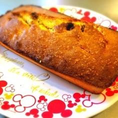 梅酒レーズンのパウンドケーキ