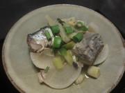鯖と大根の煮物の写真