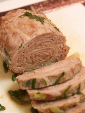 5分で柔らかジューシー煮豚