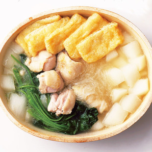 鶏と大根の香味鍋