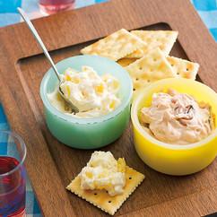 パインチーズ&塩辛チーズ