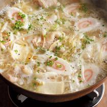 鶏煮込みスープラーメンなべ