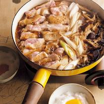 わりしたベース2 鶏肉ときのこのすき焼き