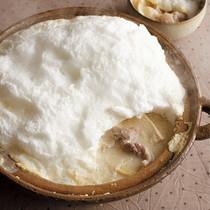ふわふわメレンゲ豆乳なべ