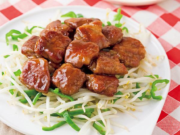 豚肉の梅肉ソテー