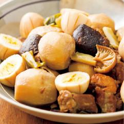 豚肉と里いもの煮物