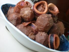 柔らか~いイカとサトイモの煮物