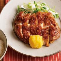 鶏肉のにんにく照り焼き