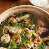 海鮮のりスープなべ