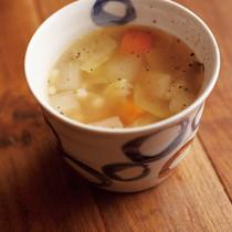 笠原家の野菜スープ