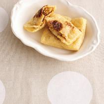 油揚げのねぎみそチーズ焼き