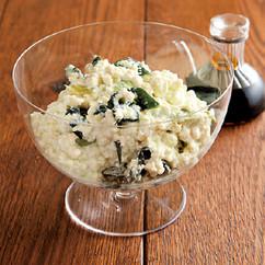 豆腐とアボカドのシェイクサラダ